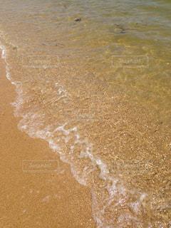海の横にある水します。の写真・画像素材[1043364]