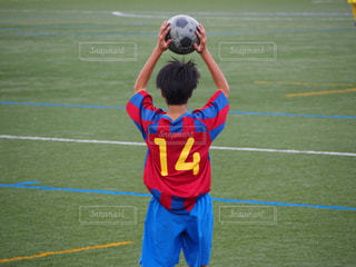 サッカーの写真・画像素材[1074868]