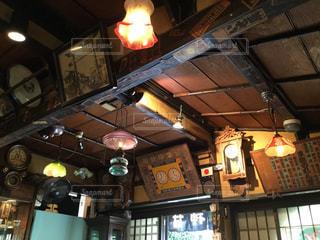 天堅屋 喫茶部の中の写真・画像素材[1046739]
