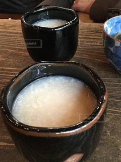 テーブルの上の甘酒 - No.1046740