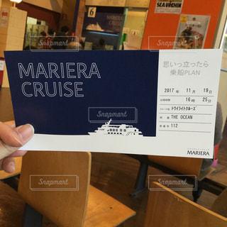 マリエラクルーズのチケットの写真・画像素材[1046794]