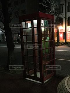 街の通りの電話ボックス - No.1100945