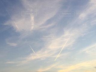 空に雲の群しをするの写真・画像素材[2514433]