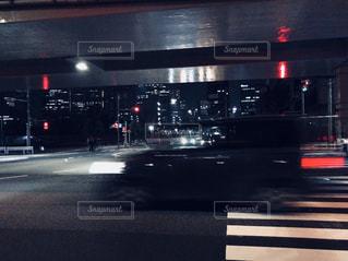 残像自動車の写真・画像素材[1044184]