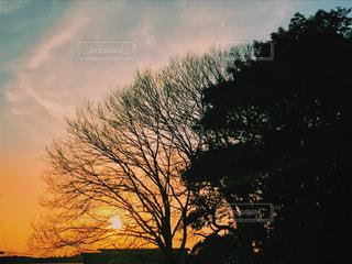 country sunsetの写真・画像素材[1044177]
