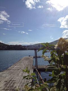 湖にての写真・画像素材[1044725]
