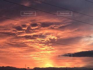 空と雲の写真・画像素材[1050345]