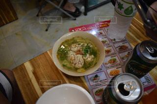 豚の脳みそのスープの写真・画像素材[1058558]