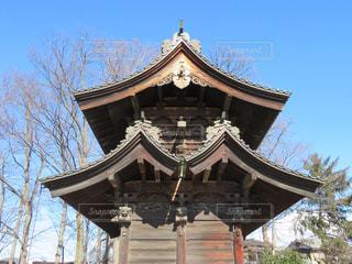 門の屋根の写真・画像素材[1044946]