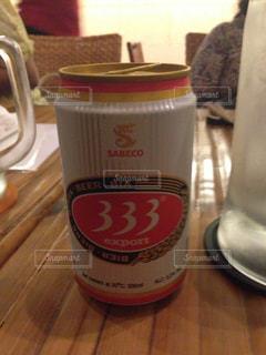 海外のビール缶の写真・画像素材[1052485]