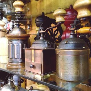 コーヒーショップのミルの写真・画像素材[1060230]