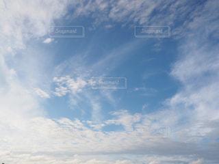 空には雲のグループの写真・画像素材[1214719]