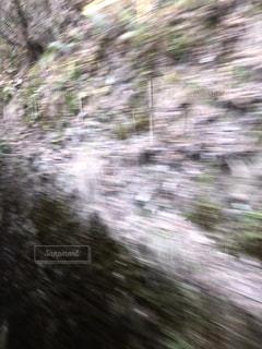 川のぼやけた画像の写真・画像素材[1065476]