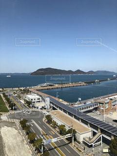 女木島と港の写真・画像素材[1082742]