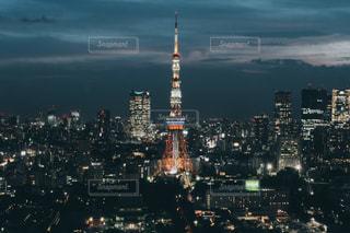 東京タワーの夜景 - No.1045608
