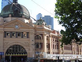 Flinders stationの写真・画像素材[1046136]