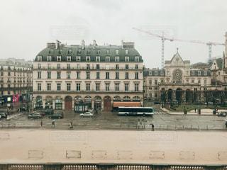ルーヴル美術館から見た風景の写真・画像素材[1046399]