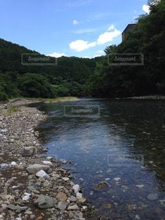 高知の澄んだ川の写真・画像素材[1047713]