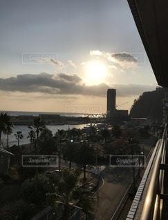 海辺の夕日 - No.1046931