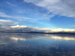 ウユニ塩湖の写真・画像素材[1050457]