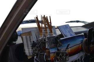 ビンテージ車の内装の写真・画像素材[1047544]