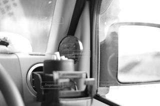 車内とミラーの写真・画像素材[1047547]