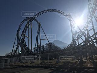 富士急ハイランド 高飛車の写真・画像素材[1050014]