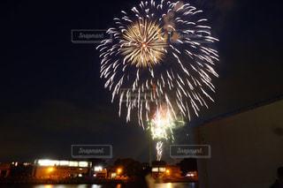 ゆでたまご花火。の写真・画像素材[1047974]