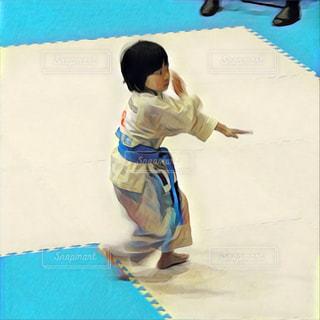空手大会小学生女子の写真・画像素材[1098183]