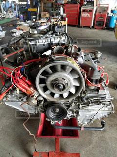 近くにエンジンのの写真・画像素材[1050385]