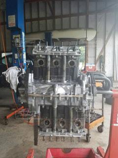 近くにエンジンのの写真・画像素材[1050387]