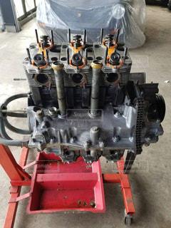 近くにエンジンのの写真・画像素材[1050390]