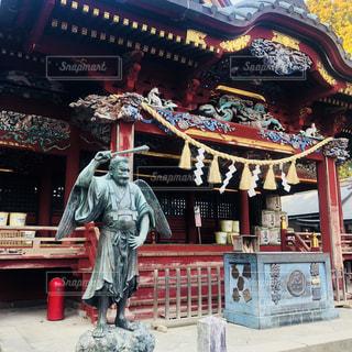 高尾山薬王院と天狗の写真・画像素材[1062300]