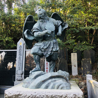 高尾山の天狗👺の写真・画像素材[1062303]