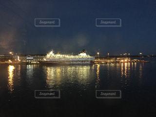 ヘルシンキからストックホルムへ向かうフェリーの写真・画像素材[1066965]