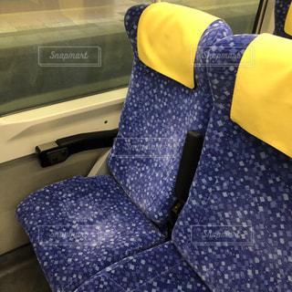 特急いなほの座席の写真・画像素材[1067132]