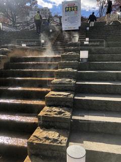 伊香保温泉の石段の写真・画像素材[1639406]