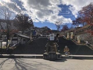 伊香保温泉の石段の写真・画像素材[1639408]