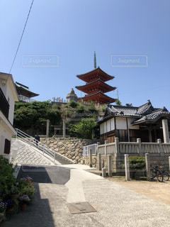 小豆島のお遍路さんの写真・画像素材[2339764]