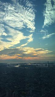 夕暮れの空の写真・画像素材[1048913]