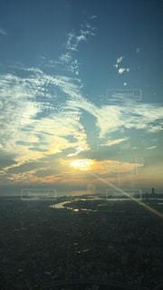 夕焼けの写真・画像素材[1048915]