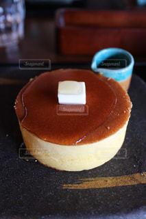 ボリュームパンケーキの写真・画像素材[1051097]