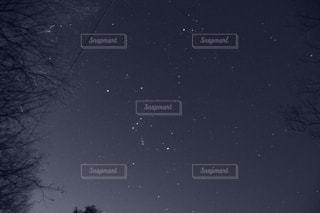 冬の星空の写真・画像素材[1049592]