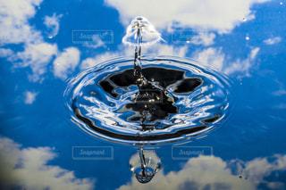 空と水滴の写真・画像素材[1125887]