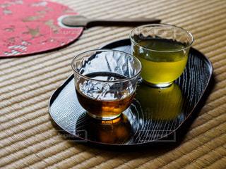 畳の上にあるお茶の写真・画像素材[2282472]