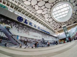 台湾の高雄駅の写真・画像素材[2484086]