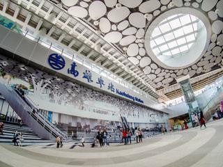 台湾の高雄駅の写真・画像素材[2484087]