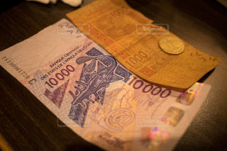 ブルキナファソの通貨・CFAフランですの写真・画像素材[2932613]