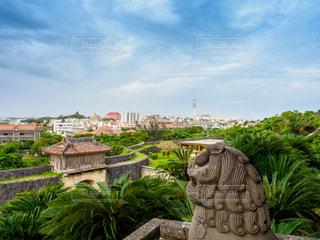 沖縄・首里城からの景色の写真・画像素材[3134162]