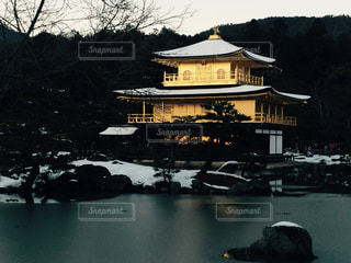 雪の金閣寺 - No.1051264